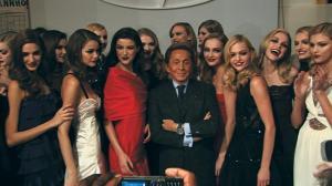 Valentino in a scene from the film