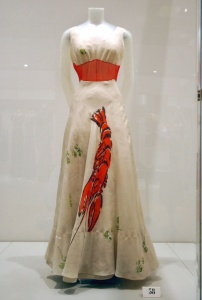 Dali-inspired Lobster Dress