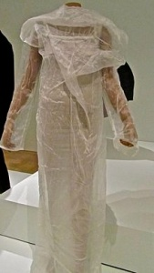 Issey Miyake gown