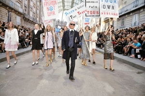 Chanel Spring/Summer 2015 runway