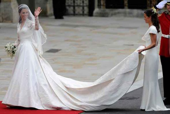 A. McQueen- Sarah Burton wedding dress